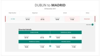 爱尔兰航空一客机宣布紧急状态 正备降波尔多