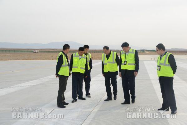 富蕴机场完成2017年度安全绩效考核检查