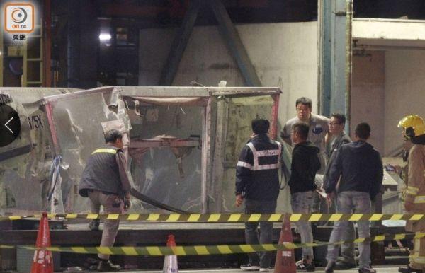 香港机场一号货站发生爆炸 疑由电池货品所致
