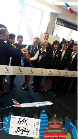 美航开通洛杉矶-北京航线 直飞北京航线增至3条