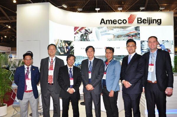 Ameco亮相亚洲MRO展会