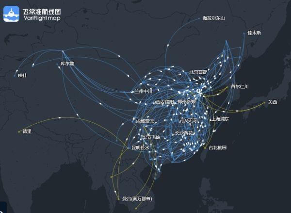 山东航空市场观察:统一机型 新增113条航线