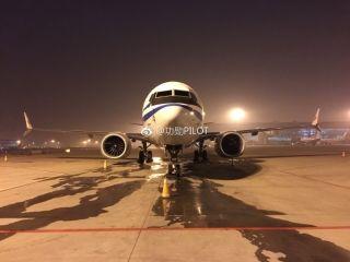 图集:国航首架波音737MAX飞机来啦