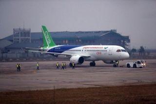 多图:要离开上海了 C919今早又飞一次