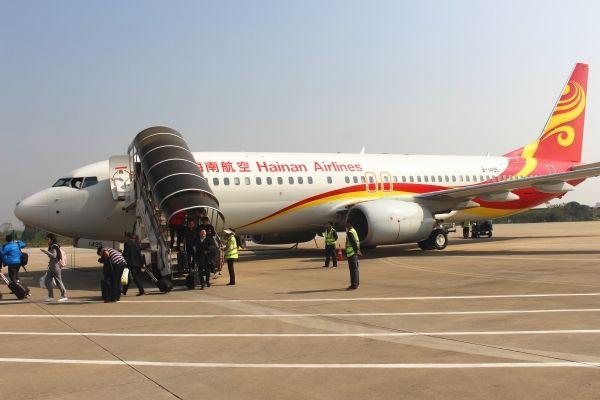 安庆机场2017年旅客吞吐量突破40万人次