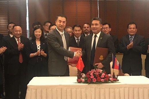 董志毅率团访问柬埔寨 达成新的航权安排