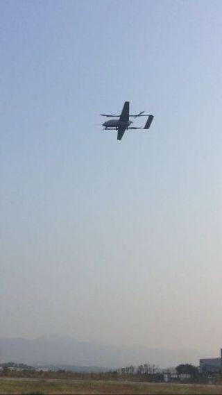破纪录!电科特飞120公斤级混合布局无人机首飞