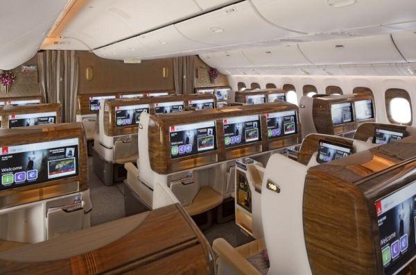 阿联酋航空全新波音777商务舱
