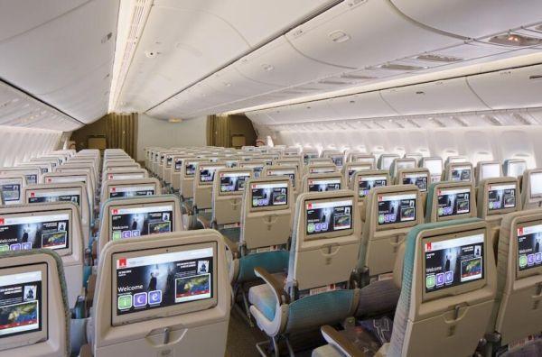 阿联酋航空全新波音777经济舱