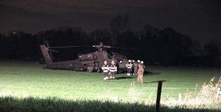 荷兰一直升机撞高压电缆 致2.4万户断电