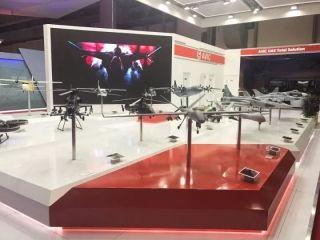 中国航空工业 燃爆迪拜航展
