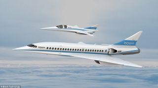 携程战略投资美国超音速飞机制造商Boom