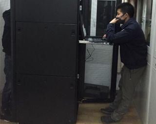 宁夏空管分局完成外台ADS-B地面站的安装工作
