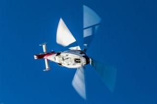 AC312E在高原成功试飞。 (摄影:岳书华)