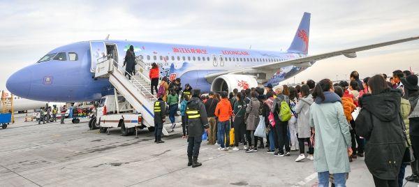 长龙航空西安=芽庄国际航线成功首航