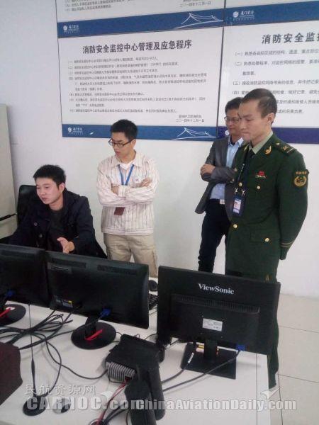 厦门机场双楼火灾报警系统升级
