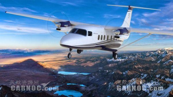 德事隆推出多用途涡桨飞机赛斯纳SkyCourier408