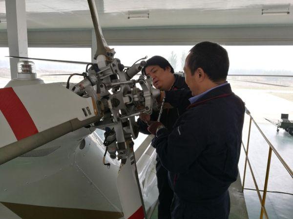 CAH完成迁安市AW139型直升机四年检服务工作