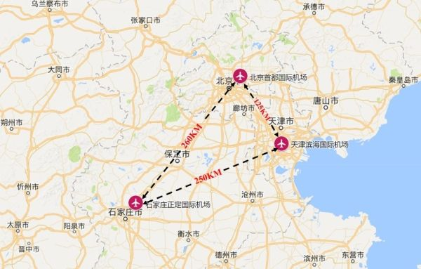 京津冀机场群主要机场运营情况分析2