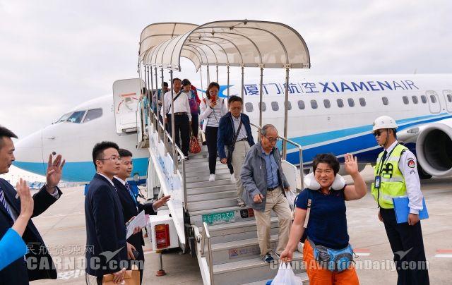 厦航派出3架飞机 协助巴厘岛滞留旅客回国