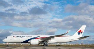 马来西亚航空首架A350XWB交付