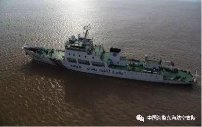 东海航空支队开展上海市海域专项海洋督察