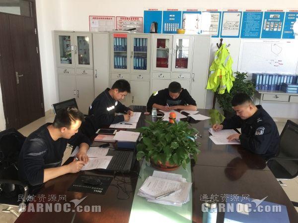 富蕴机场开展12·2全国交通安全日宣传教育活动