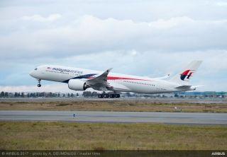 马来西亚航空接收其首架A350XWB宽体飞机