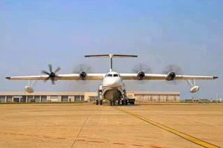 重磅!大型水陆两栖飞机AG600通过首飞放飞评审