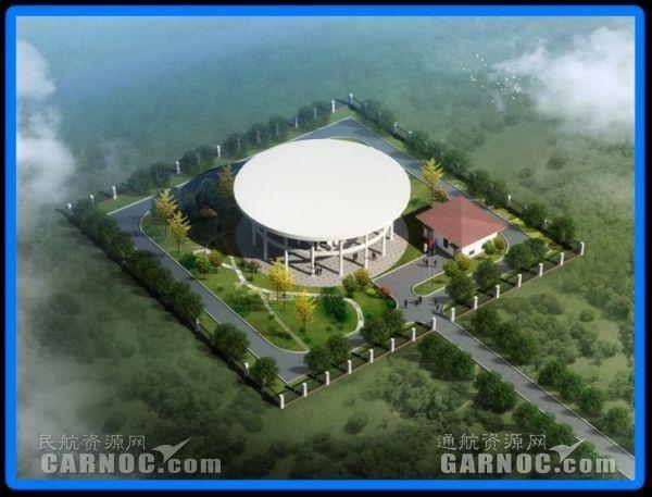 珠海通用机场导航台站。
