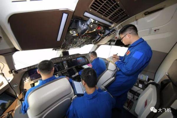 C919飞机102架机开展中速滑行试验!8