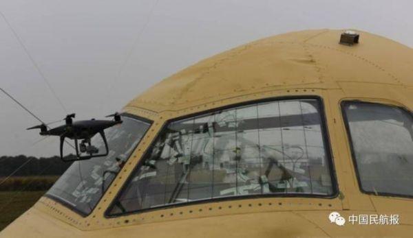 民航局开展无人机与客机碰撞试验研究