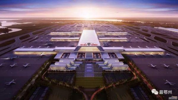 震撼曝光!鄂州顺丰机场设计概念图出炉