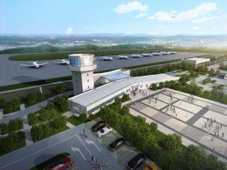 永川大安机场明年底建成投用 效果图抢先看