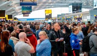 受大雪影响 欧洲地区部分机场无法正常运营