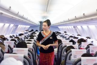 空姐的日常——中国最美空姐吴桑妮的一天