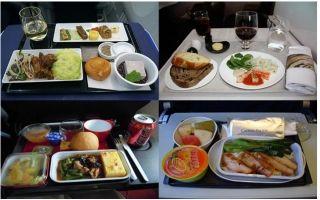 泪奔!10大航空公司商务舱与经济舱餐食对比