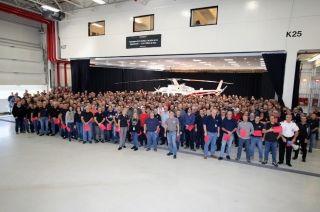 贝尔直升机加拿大工厂庆祝第5000架机出厂交付