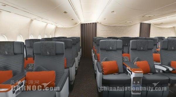 新航首架配备全新客舱产品的A380飞抵新加坡