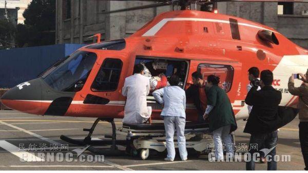 金汇江西分公司配合完成全省首例陆空联合救援