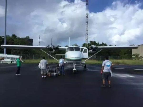"""""""哈飞""""运12E飞机在密克罗尼西亚投用"""
