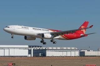图集:深航第二架A330宽体机抢先看