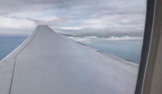 法航飛機故障 放油備降巴拉圭