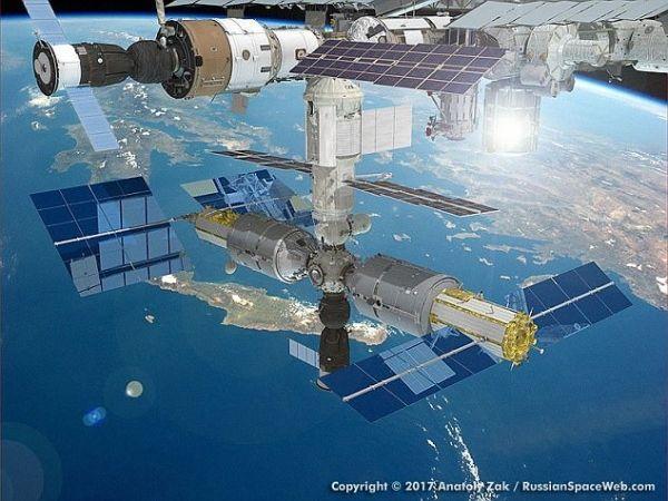 俄罗斯计划在国际空间站上建五星级酒店