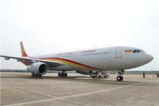 以新换心 海航新A330-300客机成功首航