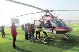 山西盛世天星投资6500万引进3架直升机