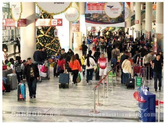 澳门国际机场2017年旅客量再创佳绩