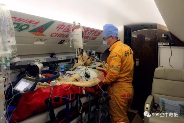 999专业航空医疗救援飞机完成2018年首飞