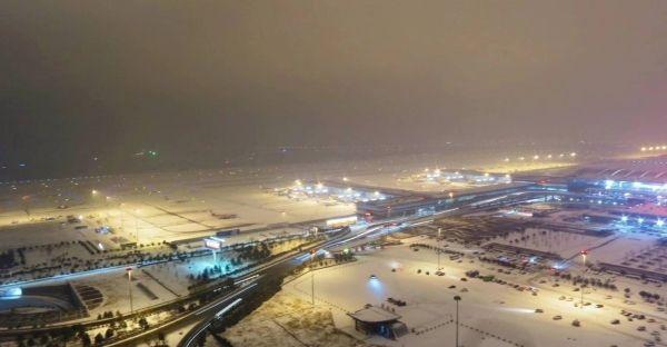 东航西北运控部全力应对大雪天气 保障航班