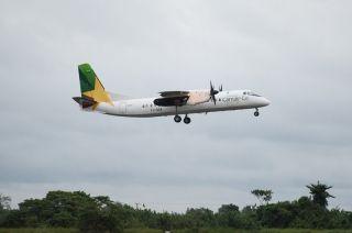 翱翔非洲的新舟60飞机 助力中非区域航空合作